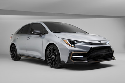 The 2021 Toyota Corolla Apex Edition maximizes the inherent potential of the Corolla sedan's high-strength TNGA-C platform, multi-link rear suspension and 169-horsepower 2.0-liter Dynamic Force Engine.
