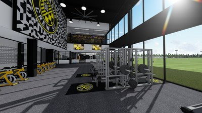 Leveraging past experience with developing training facilities for professional teams, Burns & McDonnell collaborated with The Columbus Architectural Studio and Moody Nolan to develop an interior design with a player-focused mentality for the new Columbus Crew SC training facility.