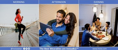 No matter the time of day or what you are wearing your InvizaWEAR™ health, fitness, predictive wellness and GPS location wearable tracker comes with you hidden away from view by onlookers as it recharges with your every move. www.inviza.com