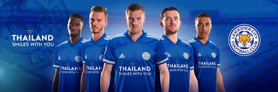 Thailand Smiles With You LCFC's 'Jersey for Thailand' phenomenon (PRNewsfoto/King Power Group)