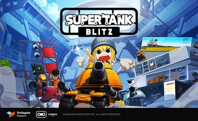 Smilegate's new casual sandbox game, Super Tank Blitz, has been officially launched in 142 countries with 2 million players pre-registered.