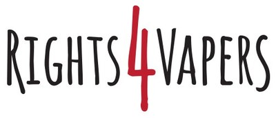 Rights 4 Vapers Logo (CNW Group/Rights 4 Vapers)
