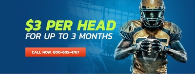 $3 Per Head for up to 3 months! (CNW Group/PayPerHead)