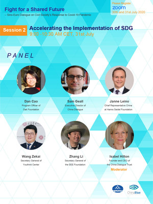 Session 2 of the Sino-Euro Civil Society Dialogue: Implementation of SDG
