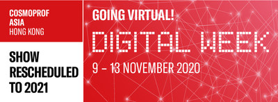 Cosmoprof Asia Goes Virtual in 2020 with Physical Event to Resume in 2021.