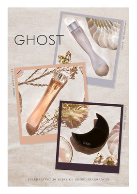 Created in 2000, our classic Ghost The Fragrance has stood the test of time. The curvaceous signature silhouette is tinged blue like the sky reflecting the musk and warmth of the fragrance combined with lighter jasmine, rose and vanilla.