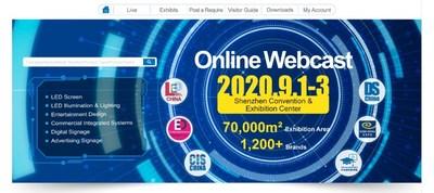 LED CHINA B2B Online Webcast Platform