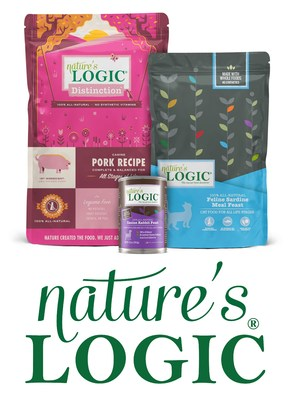 Nature's Logic is a line of 100% natural pet food with no synthetic vitamins.