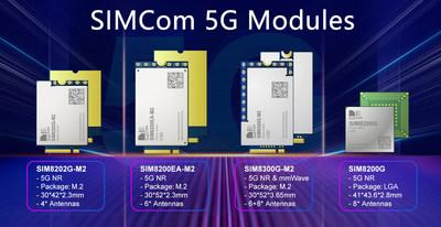 SIMCom 5G modules