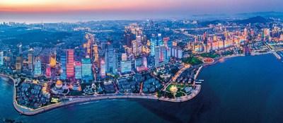 Beautiful Qingdao, where the 16th Summer Summit of Yabuli China Entrepreneurs Forum 2020 was being held (PRNewsfoto/Stadt Qingdao)