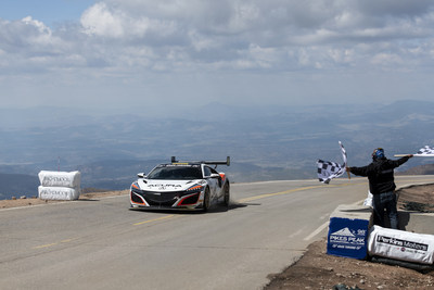 Acura driver and R&D engineer James Robinson sets new Hybrid production car record in a 2019 NSX