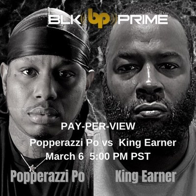 "BLK PRIME presents ""Guns Down Gloves Up"" Celebrity Boxing Match Featuring Popperazzi Po VS King Earner"