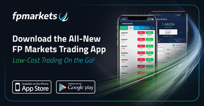 FP Markets launches intuitive and feature-packed Mobile Trading App
