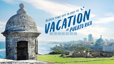 Discover Puerto Rico, in partnership with JetBlue and San Juan Marriott, invites travelers to pick any week of 2021 and block their calendars to vacation in Puerto Rico and enter a sweepstakes for a chance to win round-trip travel certificates and lodging on the Island, to enter see official rules online here: https://bit.ly/3qKW7jc.