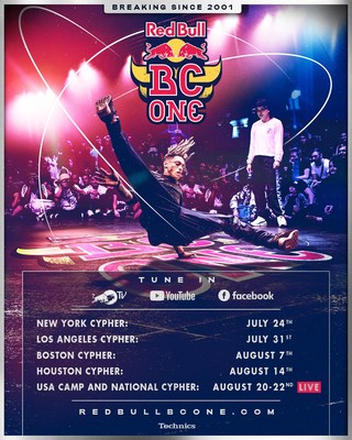 Red Bull BC One US 2021 Schedule