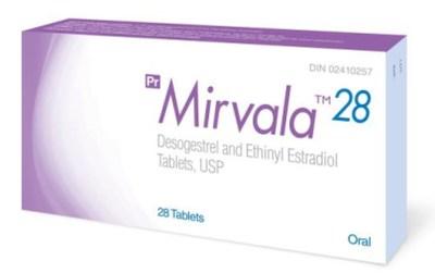 Mirvala 28 – Carton (English) (CNW Group/Health Canada)