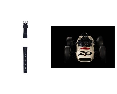 Additional nylon band / Honda RA271: The first F1TM car by a Japanese automaker, racing for the Honda team in 1964.