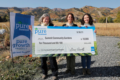 Park City community garden receives grant to increase access to locally grown produce.