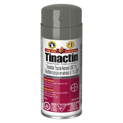 Tinactin Aerosol Powder (CNW Group/Health Canada)