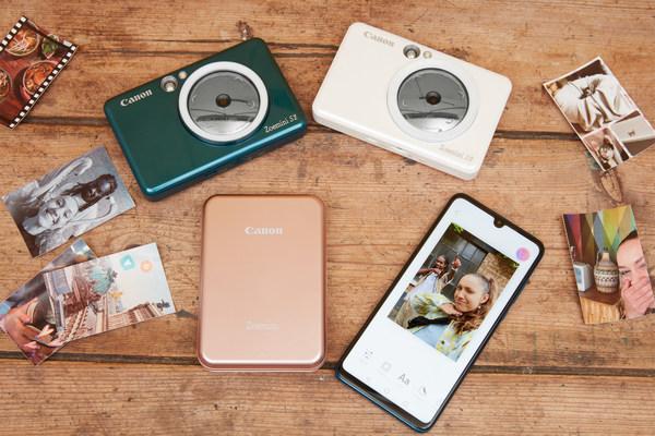 Canon evolves instant camera printer range with new 2-in-1 model – Canon Zoemini S2