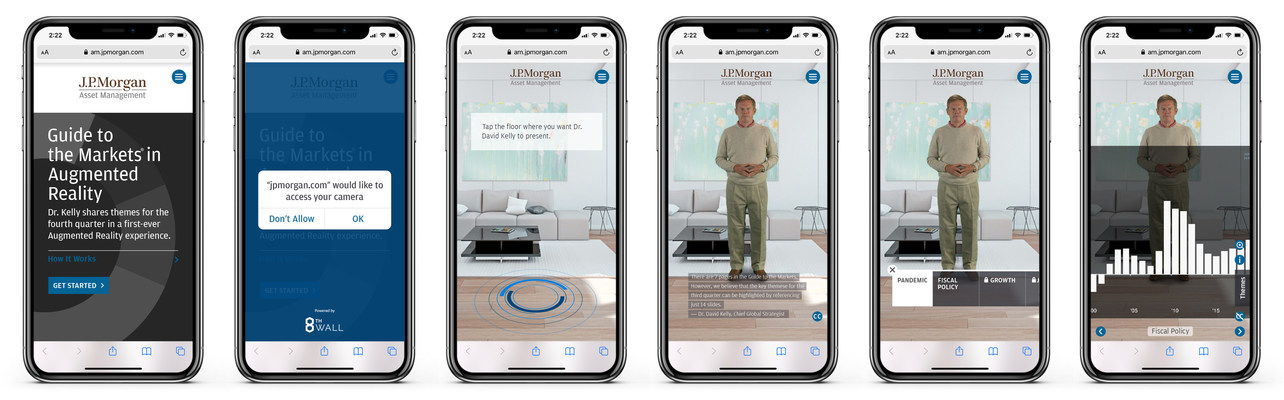 J.P. Morgan Asset Management Launches New Guide to the Markets Mobile-Based Augmented Reality (AR) Experience