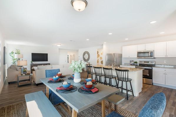 Century Complete model home great room   Paseo at Casa Vista in Casa Grande, AZ